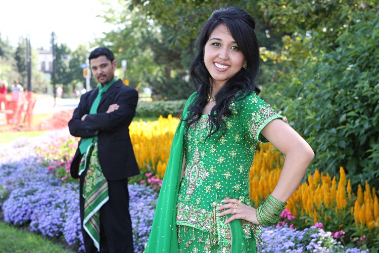 Green wedding by Sharif Mohammadi